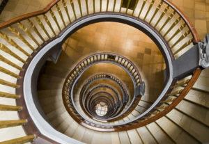Maler Bonn: Treppe