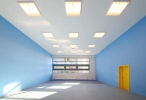 Malerarbeiten Bonn: streichen einer Halle