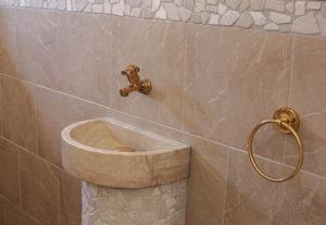 Renovierungsarbeiten Bonn: Altes Waschbecken renoviert
