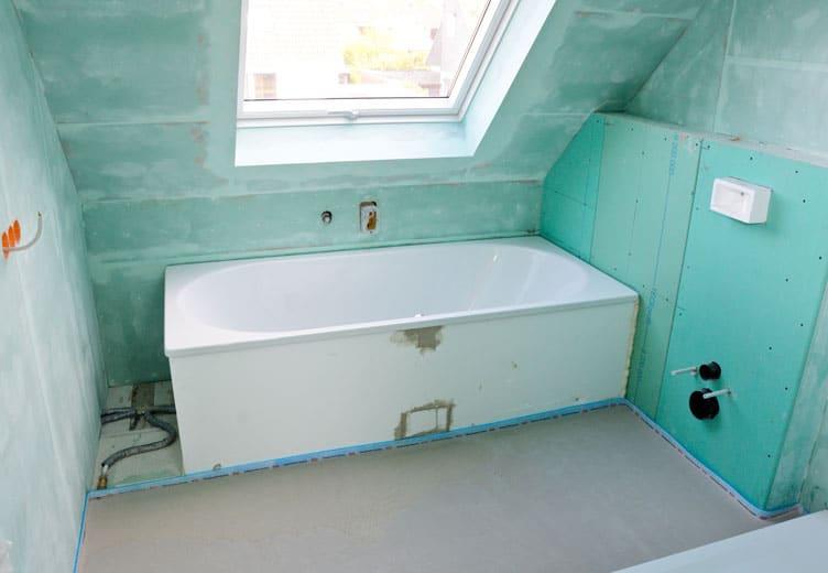 trockenbau-bonn-badezimmer-vorher - Stuck Becker
